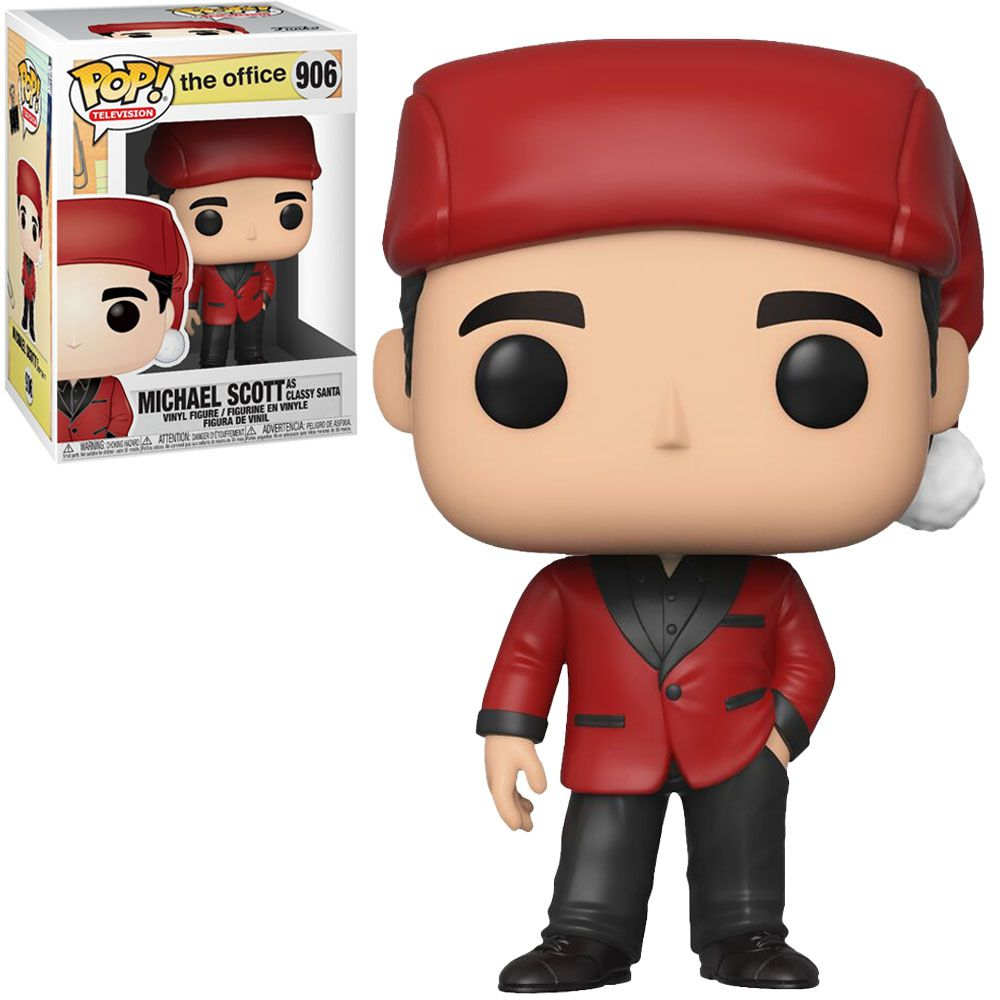Funko Pop! Michael Scott (Classy Santa): The Office #906 - Funko