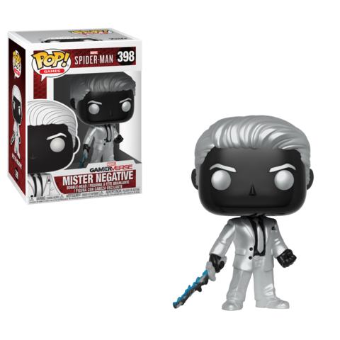PRÉ VENDA: Funko Pop! Mister Negative: Spider-Man (GamerVerse) #398 - Funko