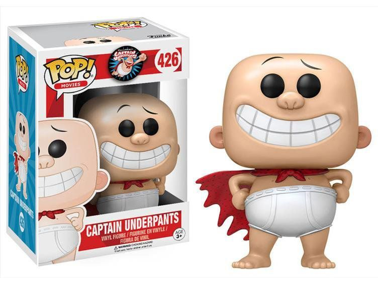 Funko POP! Movies: Captain Underpants #426 - Funko