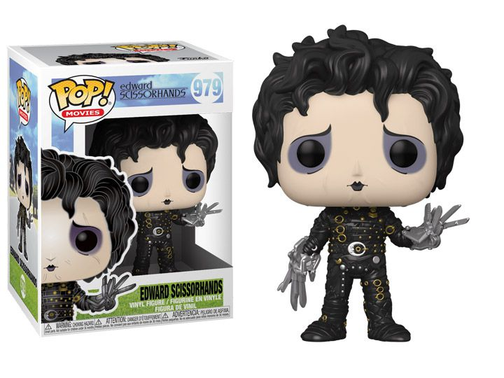 Funko Pop! Movies: Edward Scissorhands #979: Edward Mãos de Tesoura (Edward Scissorhands)- Funko