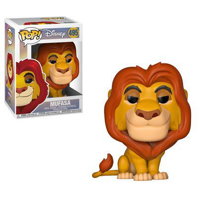 Funko Pop! Mufasa: O Rei Leão (The Lion King) #495 - Funko