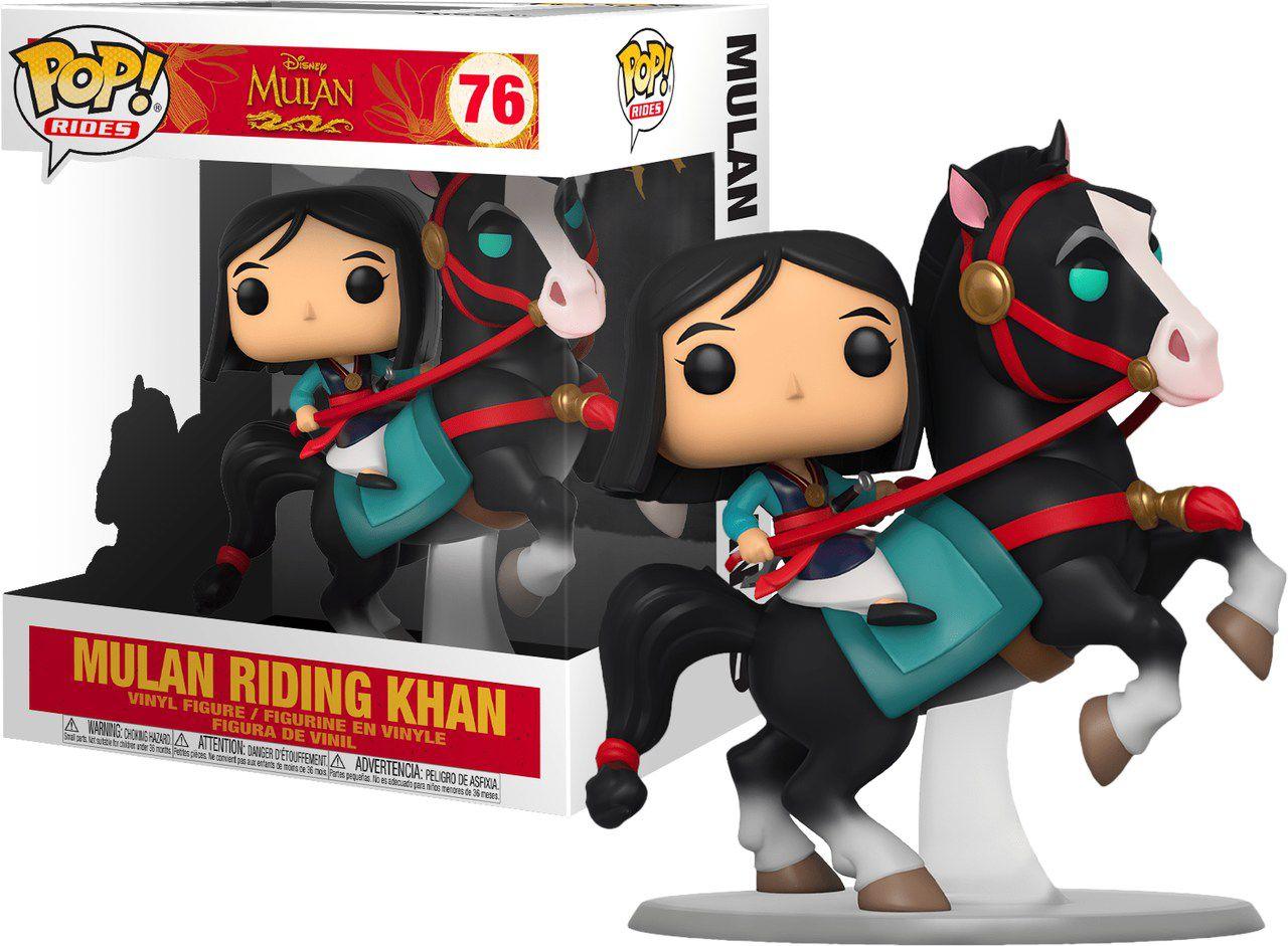 Funko Pop! Mulan On Khan: Mulan (Disney) #76 - Funko