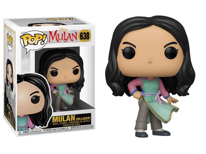 Funko Pop! Mulan (Villager): Mulan (2020) #638 - Funko