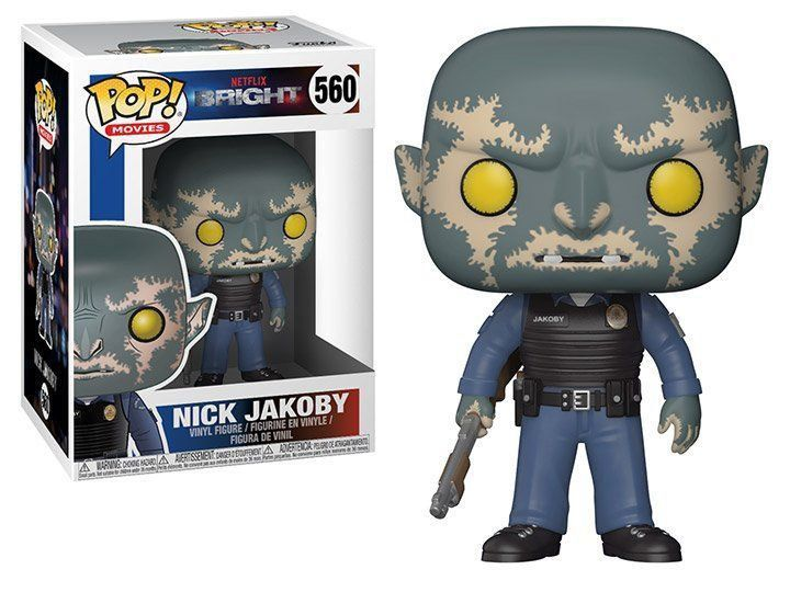 PRÉ VENDA: Funko Pop! Nick Jakoby: Bright #560 - Funko