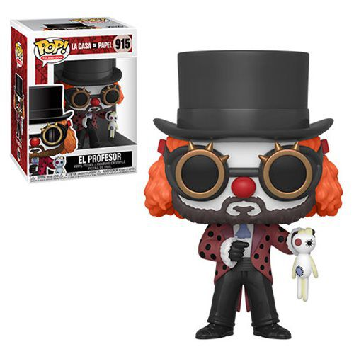 Funko Pop! O Professor (The Professor): La Casa De Papel #915 - Funko