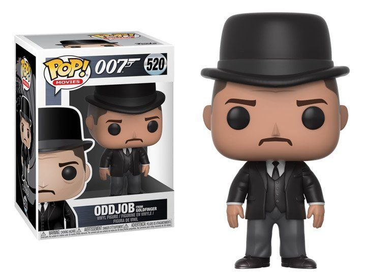 Funko Pop Oddjob: 007 James Bond #520 - Funko