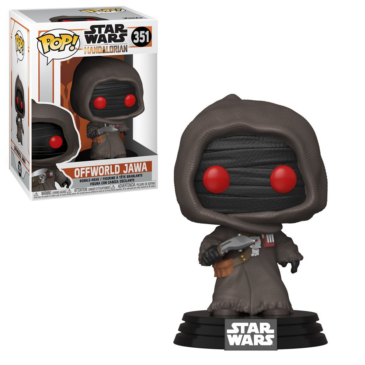 PRÉ VENDA: Funko Pop! Offworld Jawa: The Mandalorian (Star Wars) Disney+ #351 - Funko