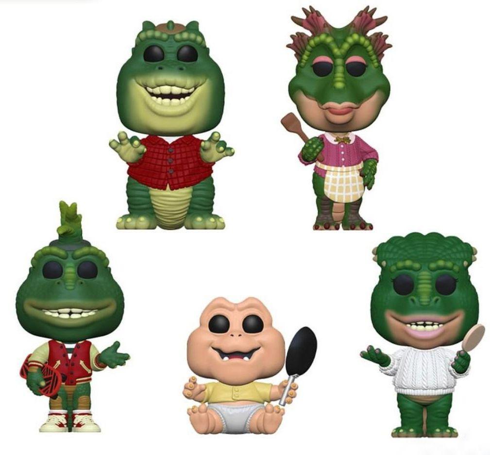 PRÉ VENDA: Funko Pop! Pack A Família Dinossauro (Dinosaurs) (Set de 5) - Funko