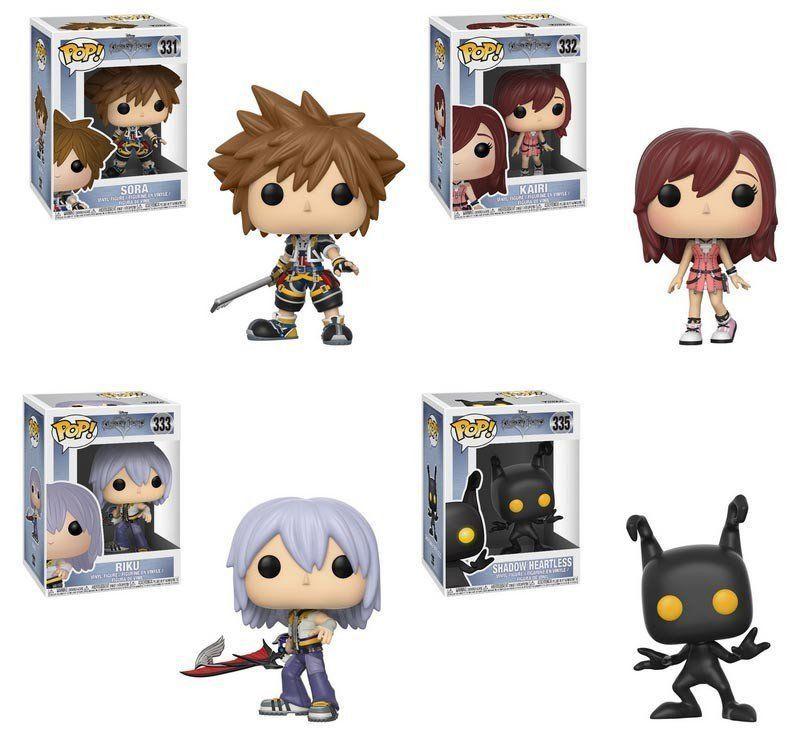PRÉ VENDA: Funko Pop Pack Disney Kingdom Hearts  Series 2 (Set de 4) - Funko