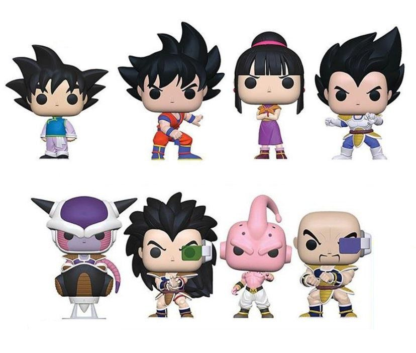 PRÉ VENDA: Funko Pop! Pack Dragon Ball Z (Set de 8) - Funko
