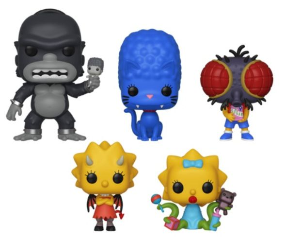 PRÉ VENDA: Funko Pop! Pack The Simpsons (Treehouse of Horror) (Set de 5) - Funko