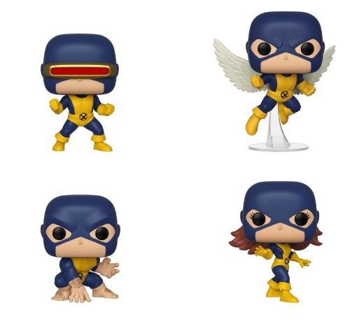 PRÉ VENDA: Funko Pop! Pack X-Men First Appearance (Marvel 80th Anniversary) (Set de 4) - Funko