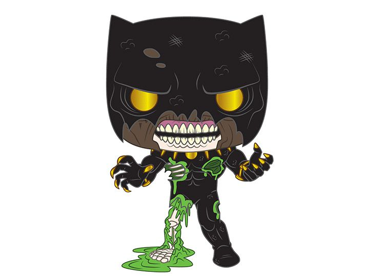 PRÉ VENDA: Funko Pop! Pantera Negra (Black Panther): Marvel Zombies (Marvel) - Funko