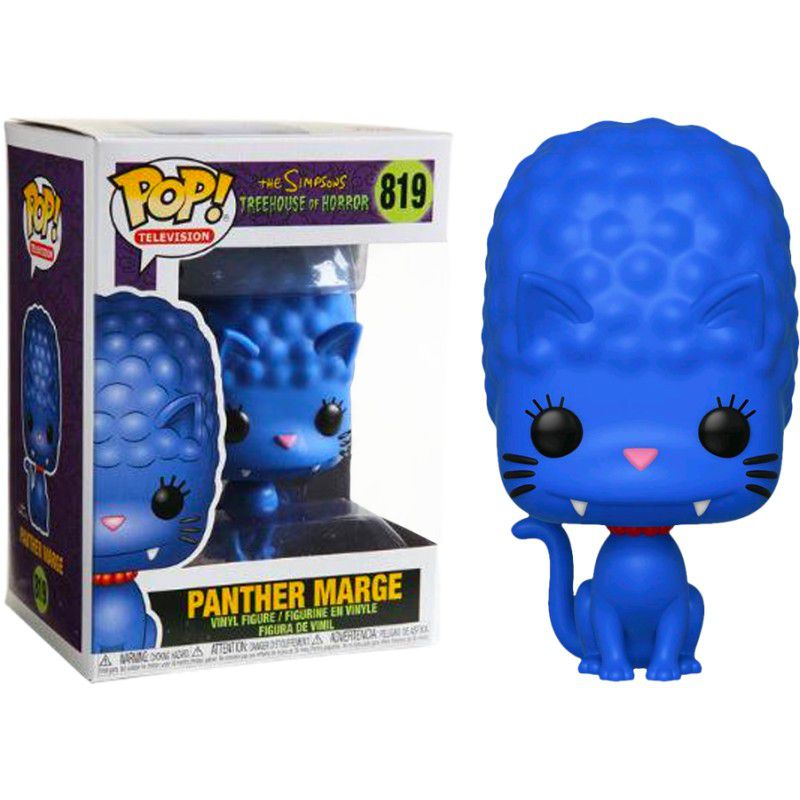 PRÉ VENDA: Funko Pop! Panther Marge: The Simpsons (Treehouse of Horror) #819 - Funko