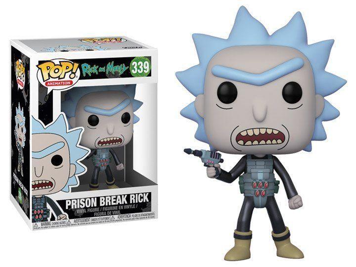 Funko Pop! Prison Break Rick: Rick and Morty #339 - Funko