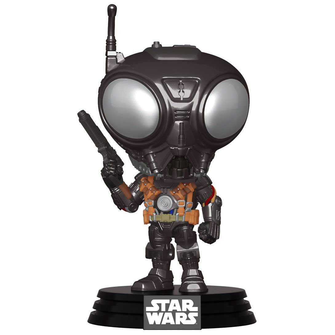PRÉ VENDA: Funko Pop! Q9-Zero: The Mandalorian (Star Wars) Disney+ - Funko
