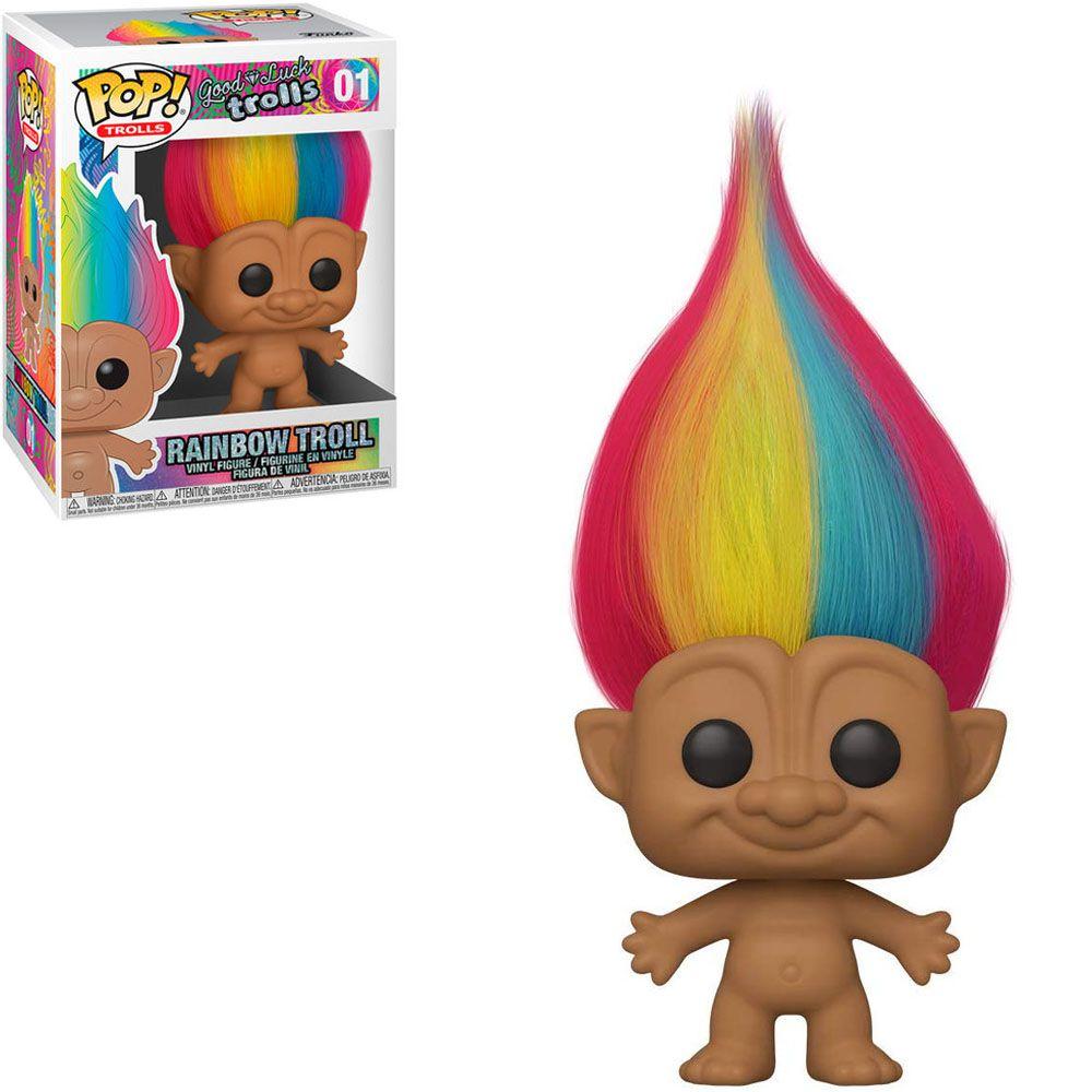 Funko Pop! Rainbow Troll: Trolls #01 - Funko