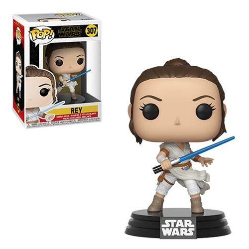 Funko Pop! Rey: Star Wars A Ascensão Skywalker (Star Wars The Rise of Skywalker) #307 - Funko