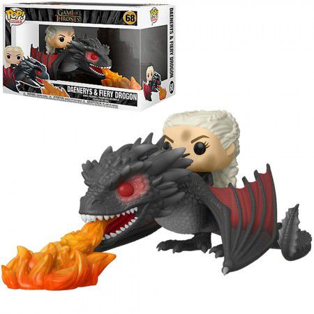 Funko Pop! Rides Daenerys (On Drogon) - Game of Thrones #68 - Funko