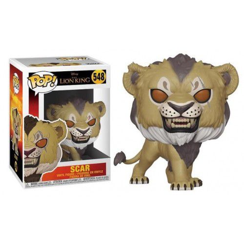 Funko Pop! Scar: O Rei Leão (The Lion King 2019) #548 - Funko