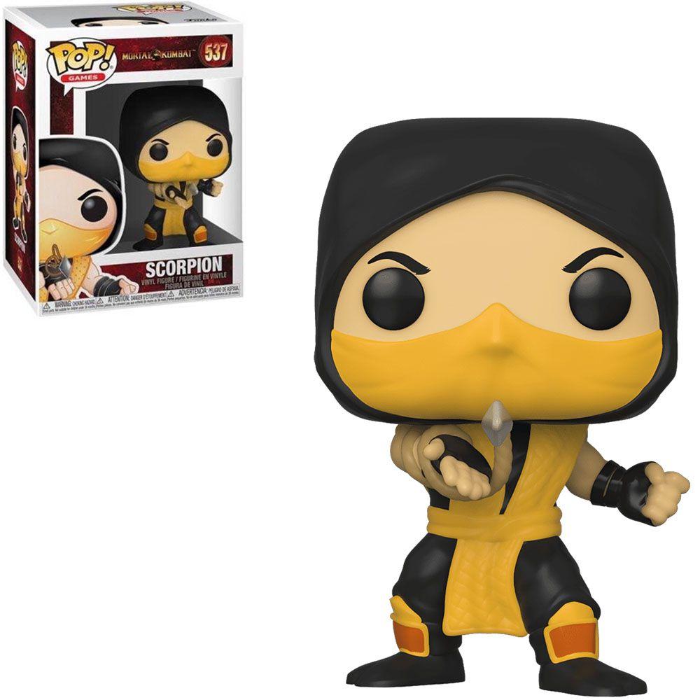 Funko Pop! Scorpion: Mortal Kombat #537 - Funko