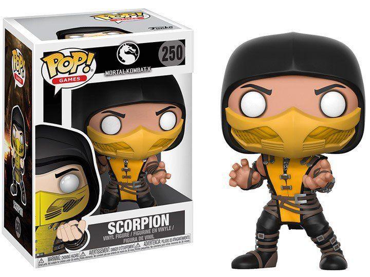 Funko Pop Scorpion: Mortal Kombat X #250 - Funko