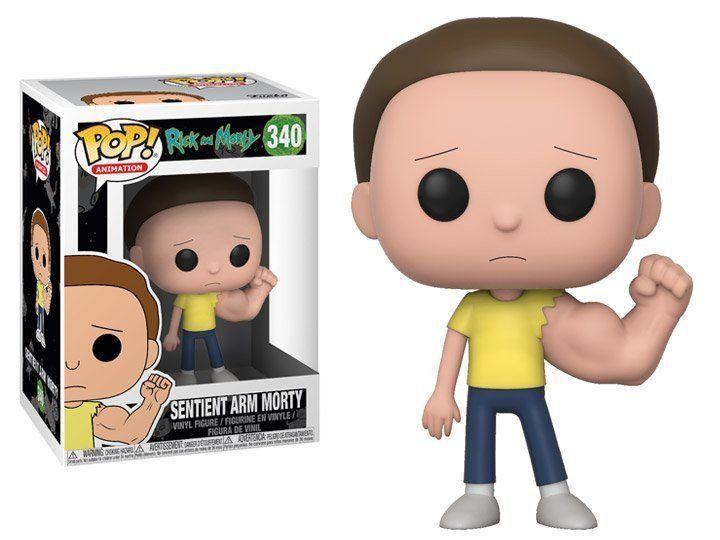 Funko Pop! Sentient Arm Morty: Rick and Morty #340 - Funko