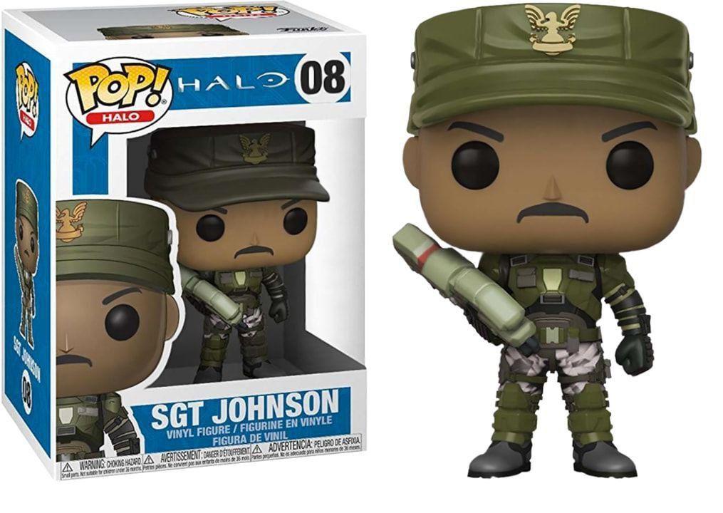 PRÉ VENDA: Funko Pop! Sgt. Johnson: Halo #08 - Funko