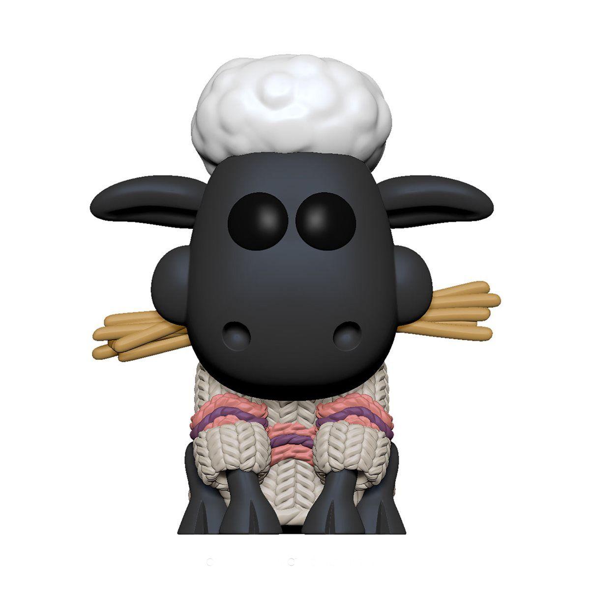 PRÉ VENDA: Funko Pop! Shaun o Carneiro (Shaun the Sheep): Wallace e Gromit - Funko