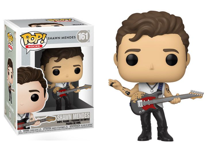 PRÉ VENDA: Funko Pop! Shawn Mendes: Rocks #161 - Funko