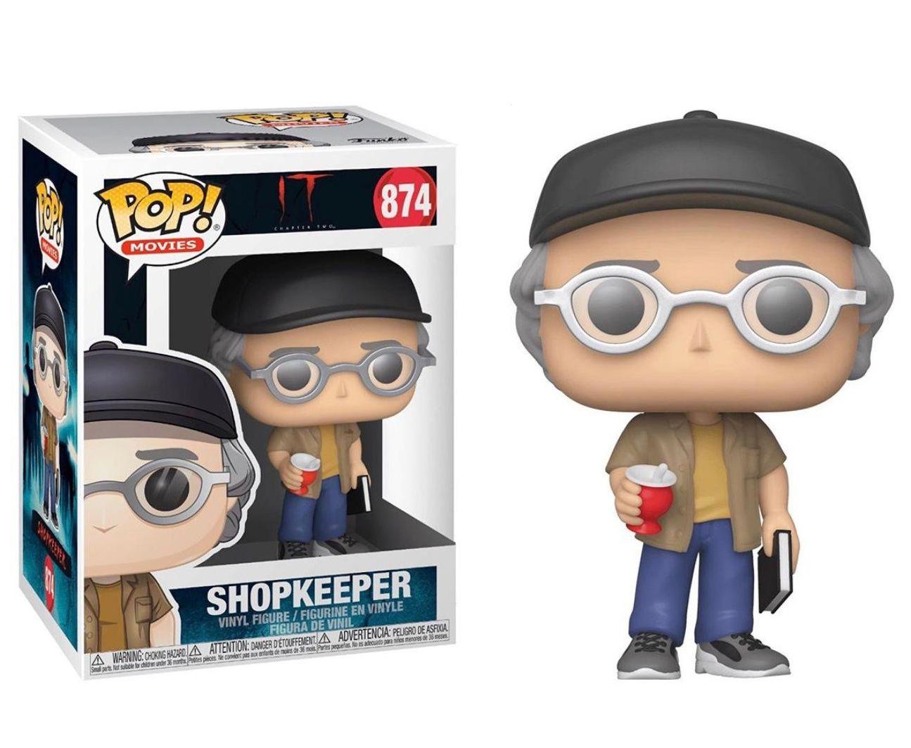 PRÉ VENDA: Funko Pop! Shopkeeper: It Chapter 2 #874 - Funko