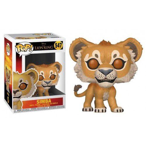 Funko Pop! Simba: O Rei Leão (The Lion King 2019) #547 - Funko