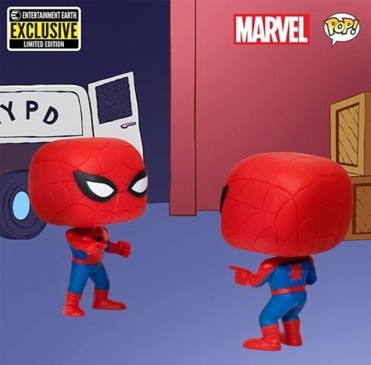 Funko Pop! Homem Aranha Vs Homem Aranha (Spider-Man Vs Spider-Man) Marvel #02 - Funko