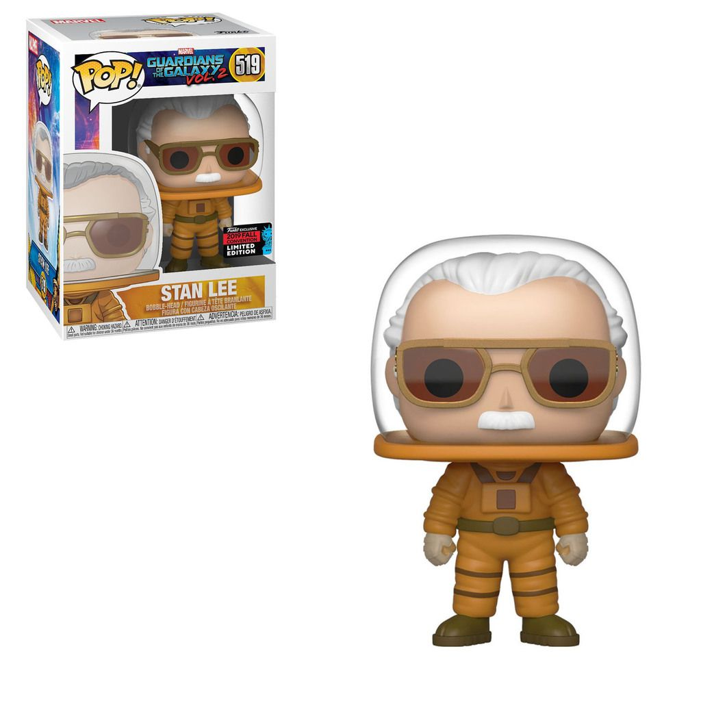 Funko Pop! Stan Lee: Guardiões da Galáxia Vol. 2 (Guardians of the Galaxy Vol. 2) Exclusivo NYCC #519 - Funko