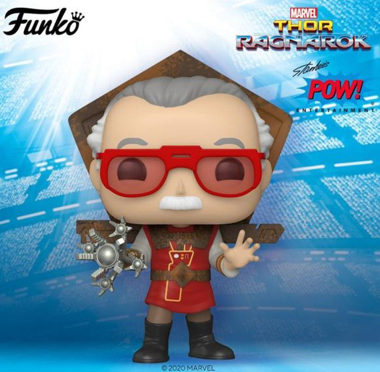 Funko Pop! Stan Lee (in Ragnarok Outfit): Marvel (Icons) #655 - Funko