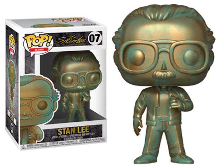 Funko Pop! Stan Lee (Platina): Marvel (Icons) #07 - Funko