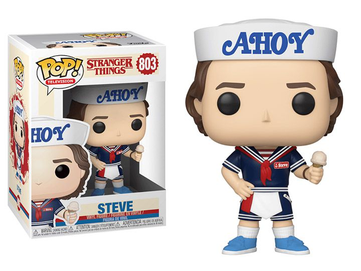 Funko Pop! Steve (With Hat & Ice Cream): Stranger Things #803 - Funko