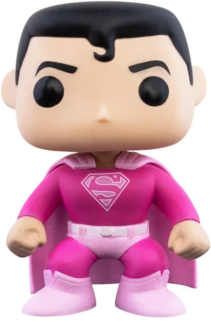 Funko Pop! Super Homem: DC Heroes (Conscientização do Câncer de Mama) #349 - Funko