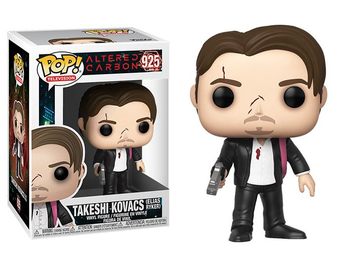 PRÉ VENDA: Funko Pop! Takeshi Kovacs (Elias Ryker): Altered Carbon #925 - Funko