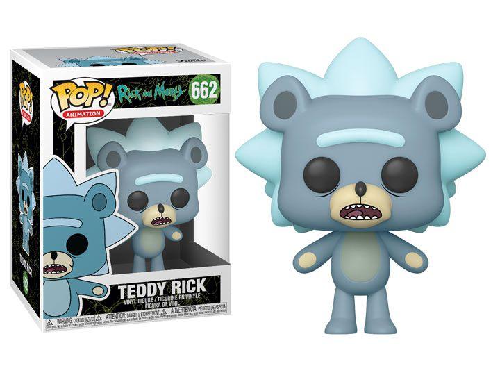 Funko Pop! Teddy Rick: Rick And Morty #662 - Funko