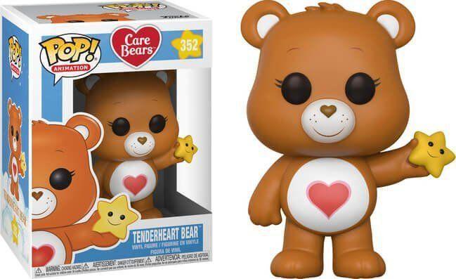 PRÉ VENDA: Funko Pop! Tenderheart Bear: Care Bears #352 - Funko