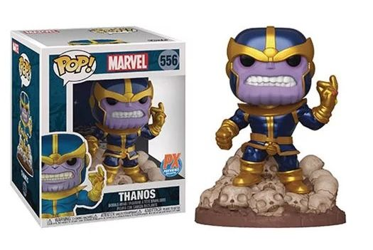 Funko Pop! Thanos: Guardiões da Galáxia (Guardians of the Galaxy ) Exclusivo #556 - Funko