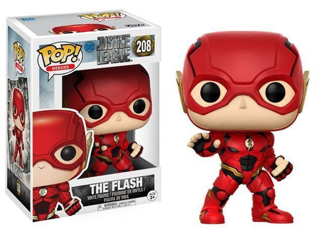 Funko Pop The Flash: Liga da Justiça (Filme) #208 - Funko