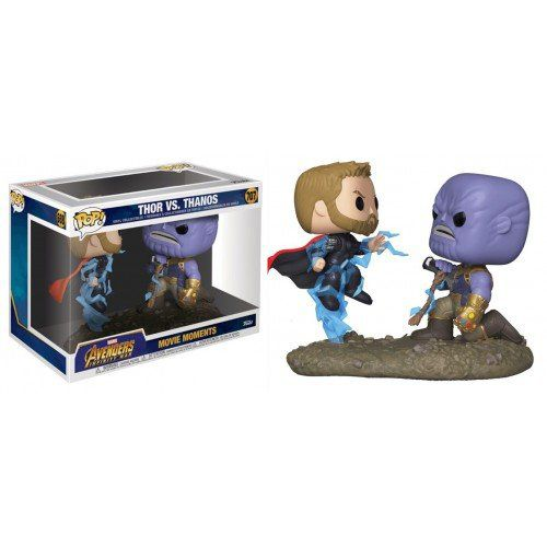 Pop! Thor vs Thanos: Vingadores Guerra Infinita (Avengers Infinity War) Movie Moments (Exclusivo) #707 - Funko (Apenas Venda Online)
