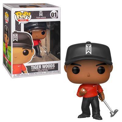 Funko Pop! Tiger Woods (Red Shirt): Golf #01 - Funko