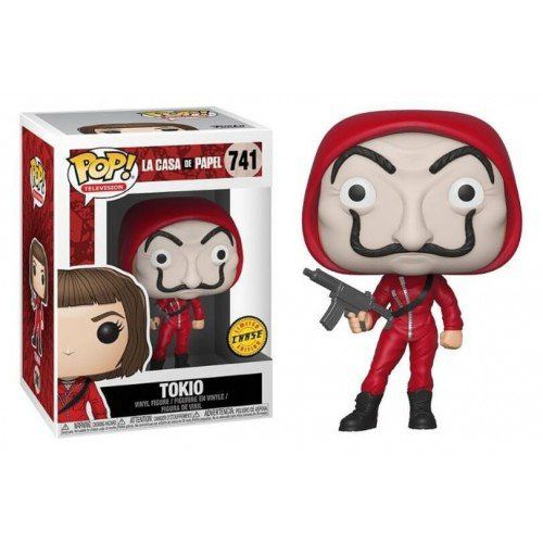 PRÉ VENDA: Pop! Tokio (Chase): La Casa De Papel (Exclusivo) #741 - Funko