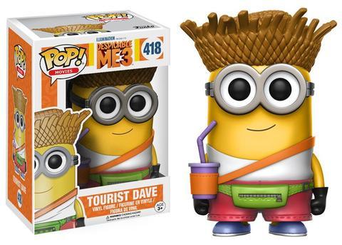 Funko Pop Tourist Dave: Meu Malvado Favorito MINIONS 3 #418 - Funko