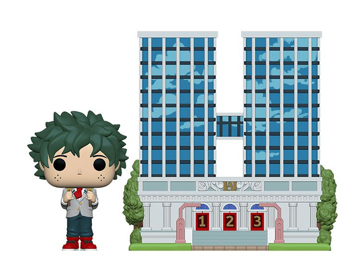 PRÉ VENDA: Pop! Town Deku (U.A. High School): Boku no Hero Academia (My Hero Academia) - Funko