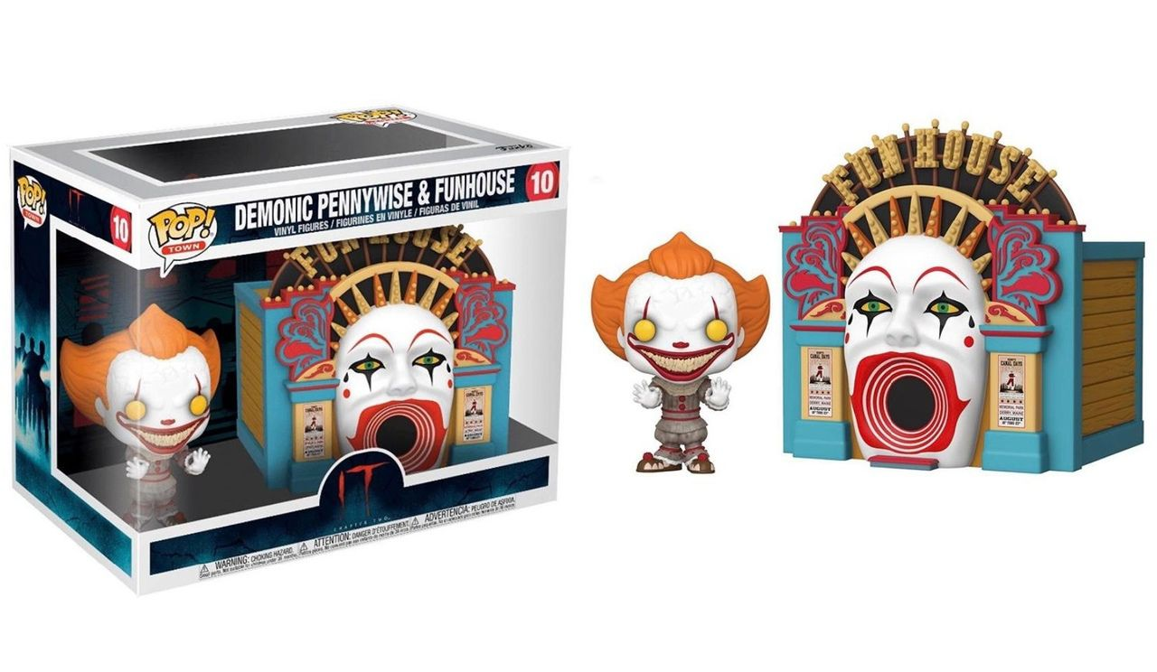 Funko Pop! Town Demonic Pennywise (with Funhouse): It Chapter 2 #10 - Funko