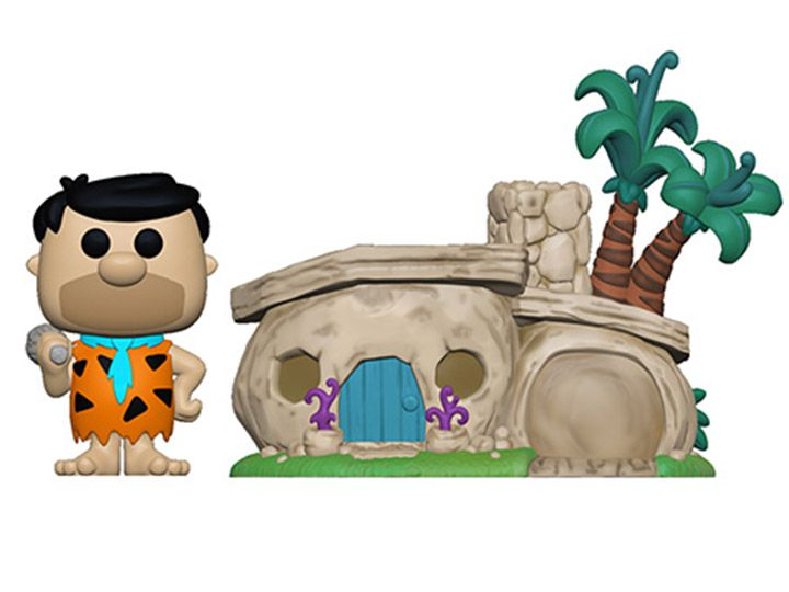 PRÉ VENDA: Pop! Town Fred Flintstone: The Flintstones - Funko
